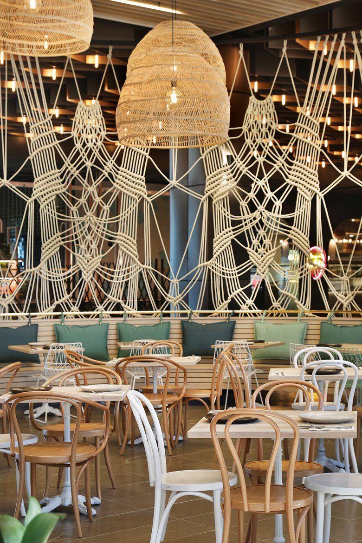 Mezz Kitchen And Bar By Studio Y Melbourne 2016 Cafe Design Restaurant Interior Design Restaurant Decor