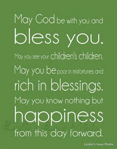 Wedding Blessing Quotes.Blessing Quotes Quotation Irish Wedding Blessing Wedding