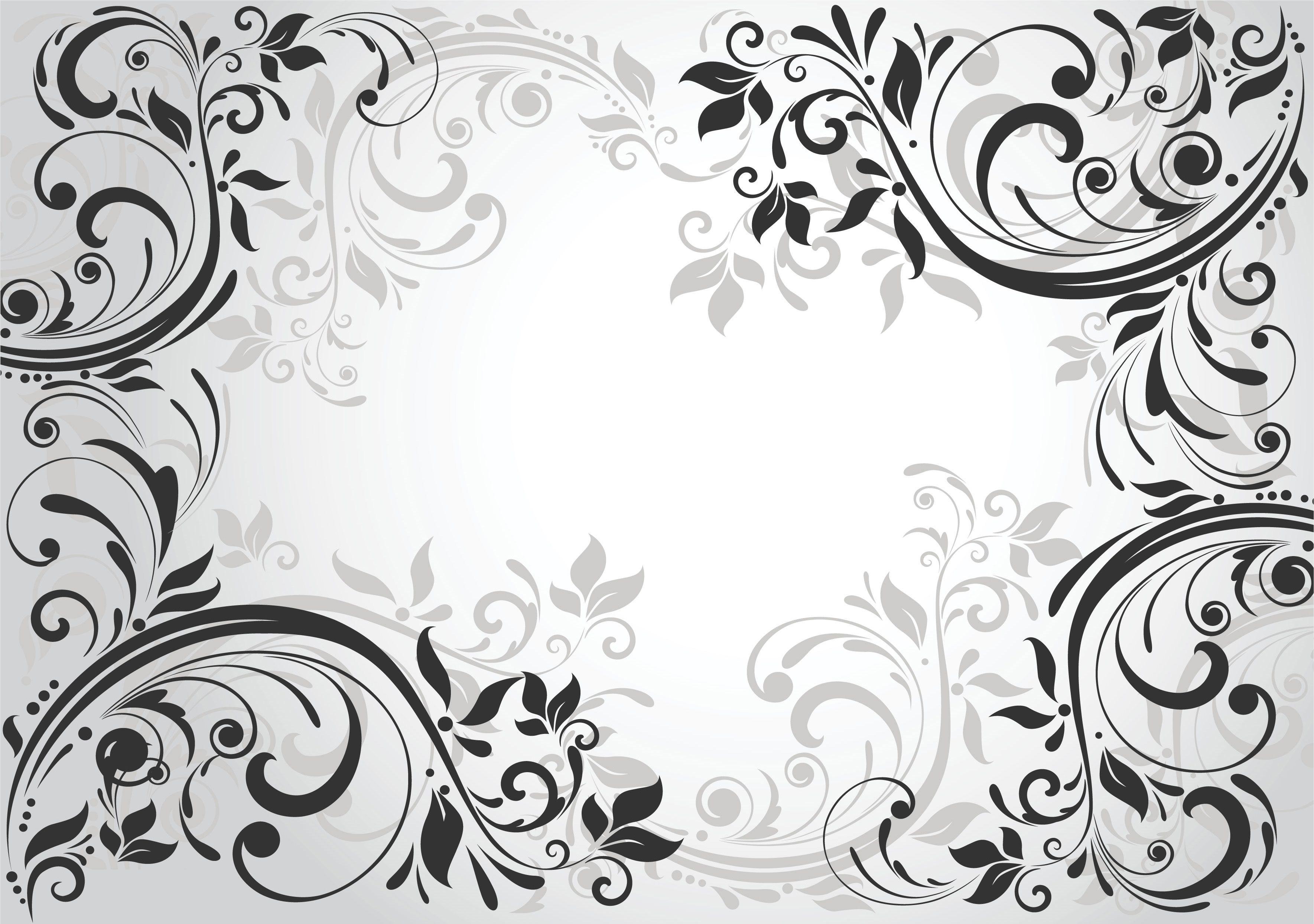 Черно белые картинки на визитки