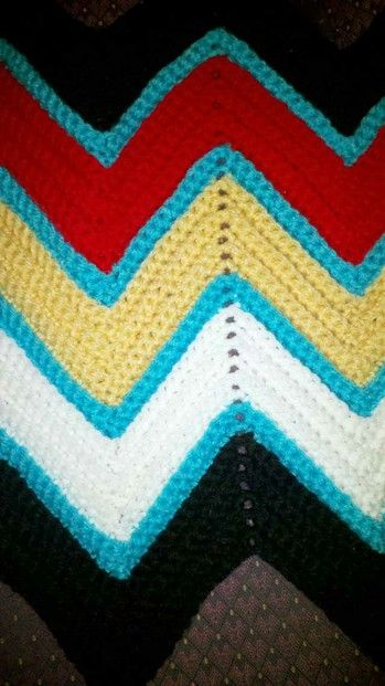 Medicine Wheel Ripple Afghan Free Crochet Pattern Ripple Afghan
