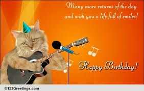 Image Result For Wishing A Guitar Player Happy Birthday Happy