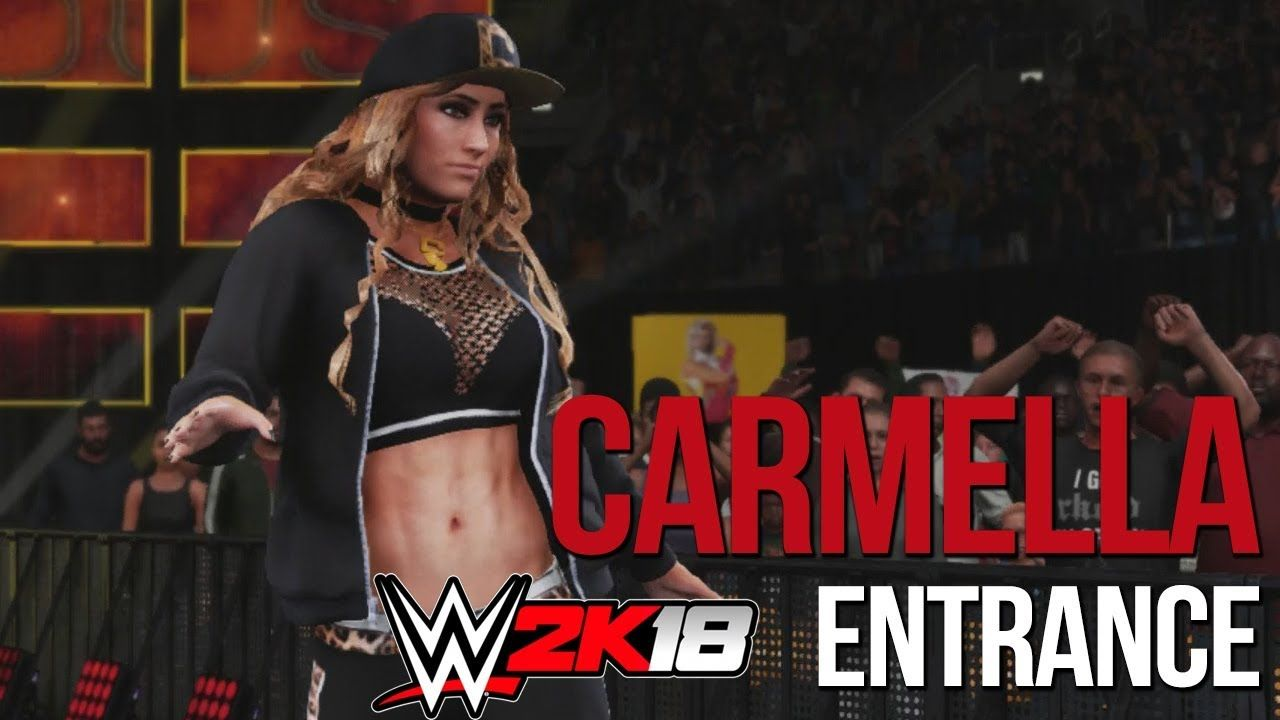 WWE 2K18: Carmella *BRAND NEW* Entrance | Carmella | Wwe