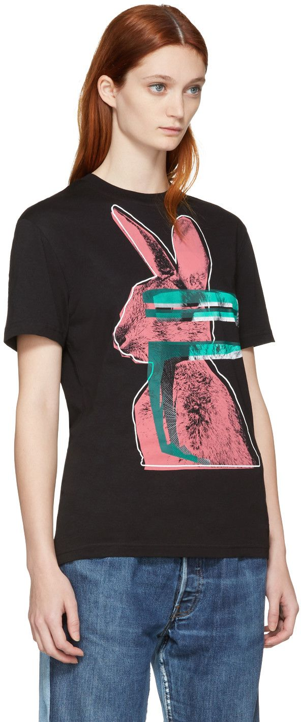 Black Classic T-Shirt Alexander McQueen Unisex aB230J