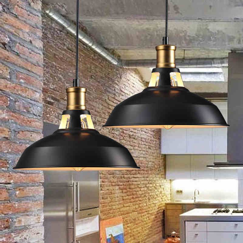Loft Industrial Pendant Lights Vintage Rh Edison Hanging Lamp E27