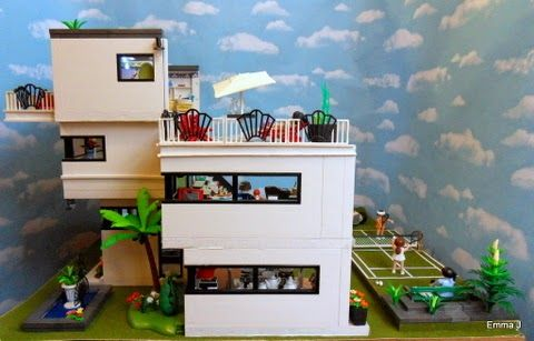 art deco style 5574 house playmobil collectors club the. Black Bedroom Furniture Sets. Home Design Ideas