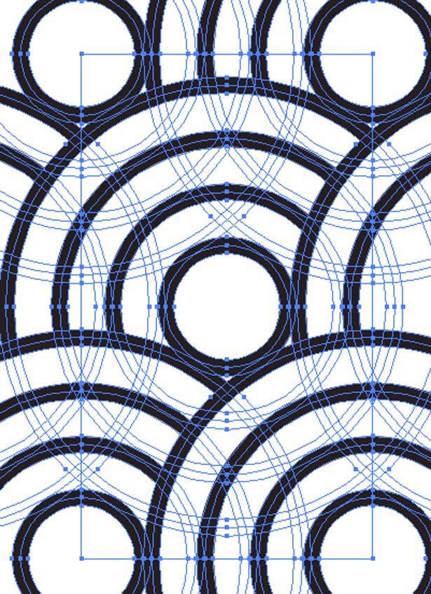 Create a repeating pattern in Illustrator Graphic design
