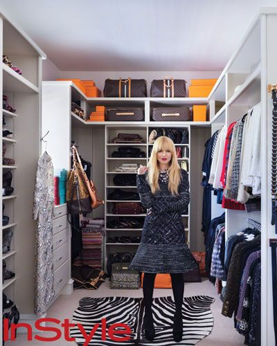 Look Inside Rachel Zoe's Chic Home Celebrity closets