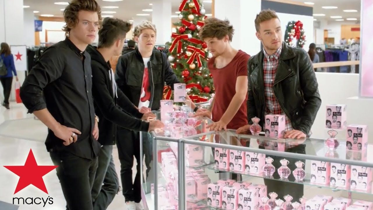 One direction macy\'s commercial - Hairstyle - Macy\'s presents ...
