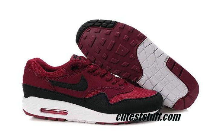 Half off top-of-the Mens Nike Air Max 1 Gym Red Sail Rave Pink ...