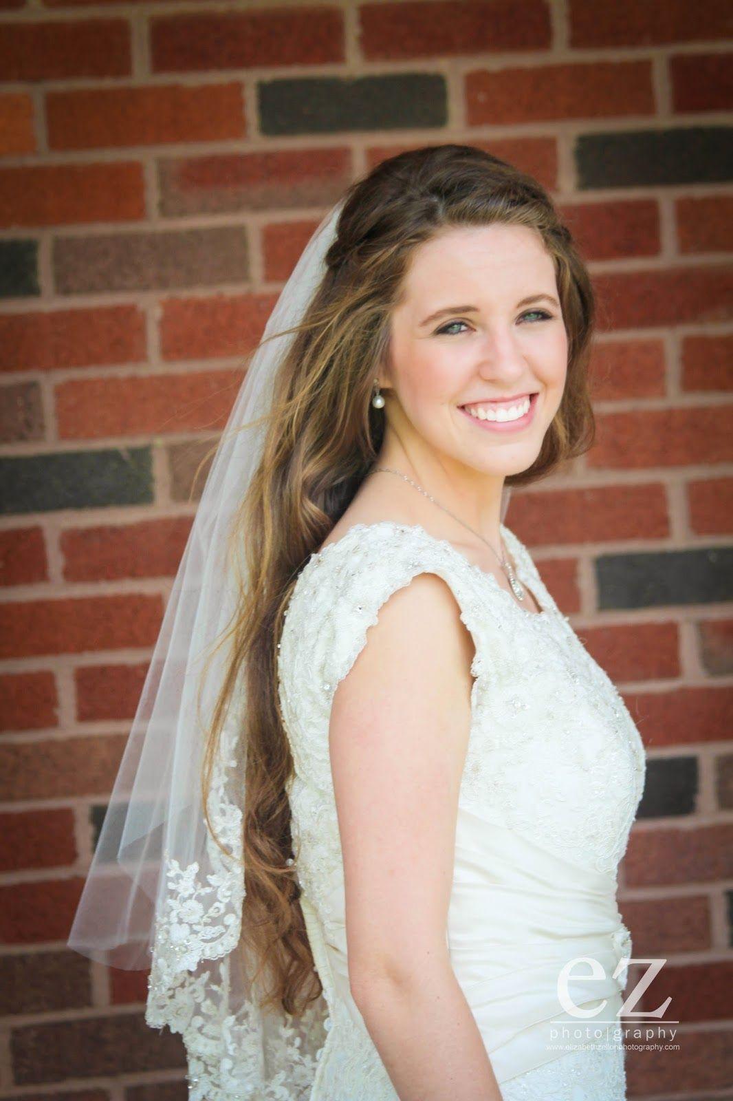 Jill Duggar And Derrick Dillard Wedding Site - Jill makes a beautiful bride
