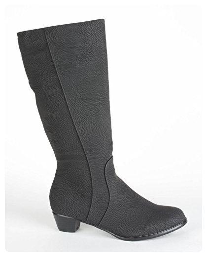 Andres Machado Damen Stiefel schwarz Größe 35 - Stiefel für frauen  (*Partner-Link