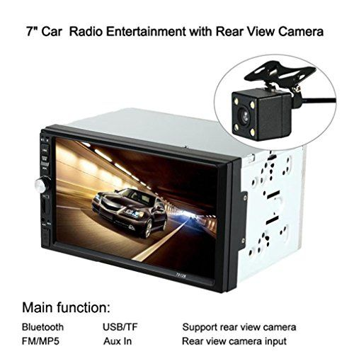 Ly's Double-Din Car Stereo MP5 MP3 Player Radio Bluetooth USB AUX + Parking Camera - http://www.caraccessoriesonlinemarket.com/lys-double-din-car-stereo-mp5-mp3-player-radio-bluetooth-usb-aux-parking-camera/  #Bluetooth, #Camera, #DoubleDIN, #LyS, #Parking, #Player, #Radio, #Stereo #3.-Electronics, #Car-Stereos