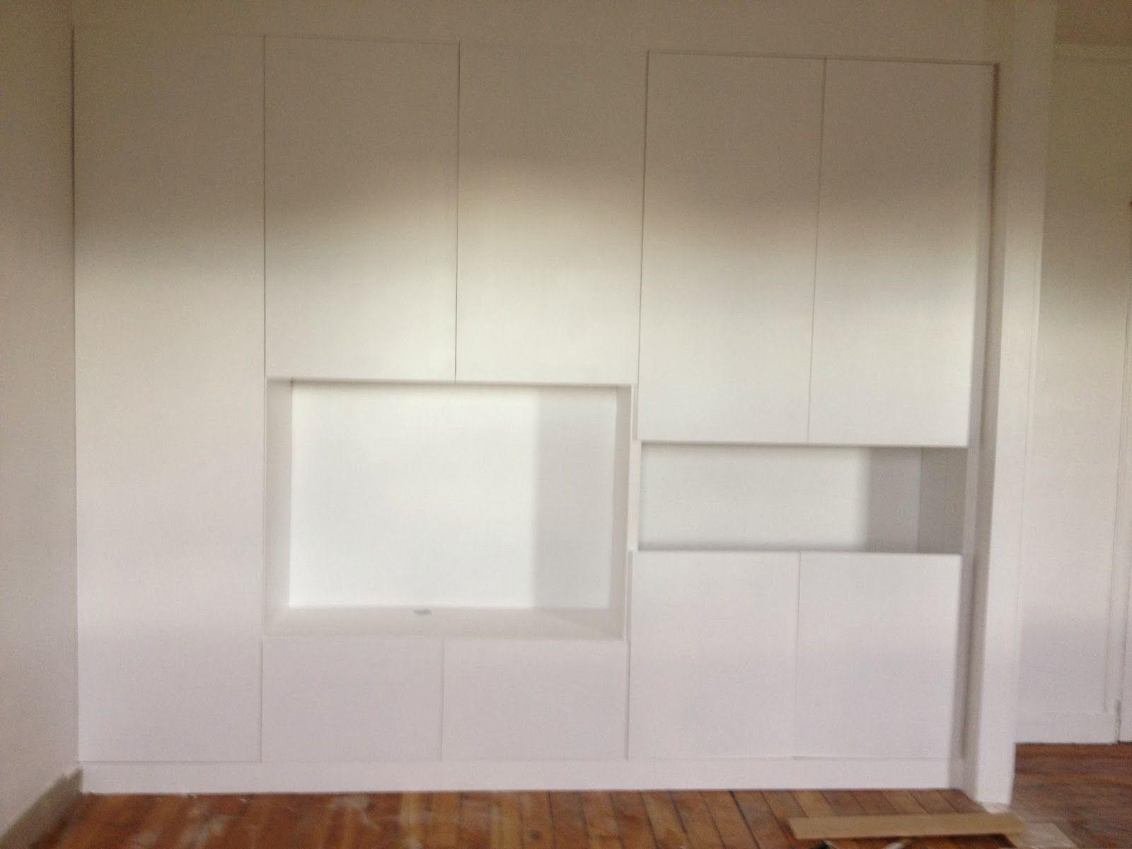Diy Un Mur De Placards Disenos De Unas Decoracion De Unas Dormitorios