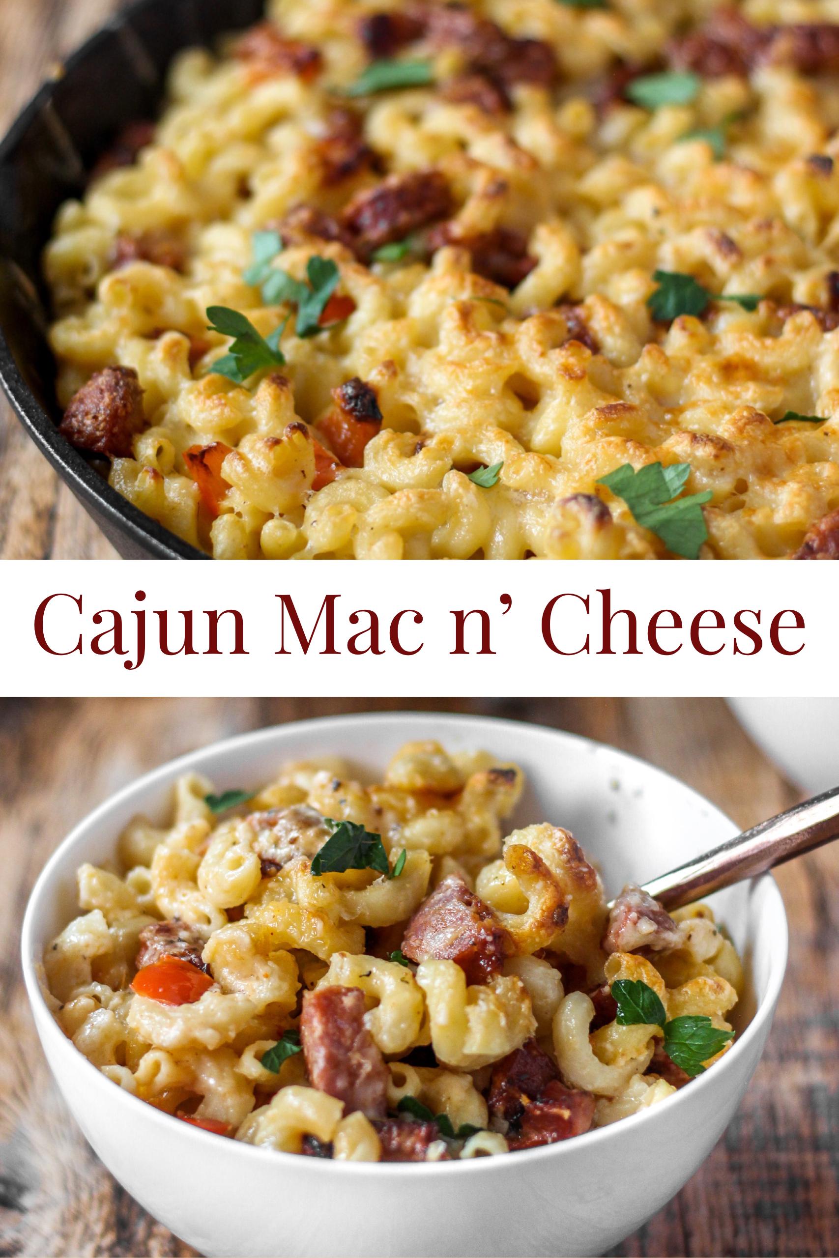 Cajun Mac and Cheese