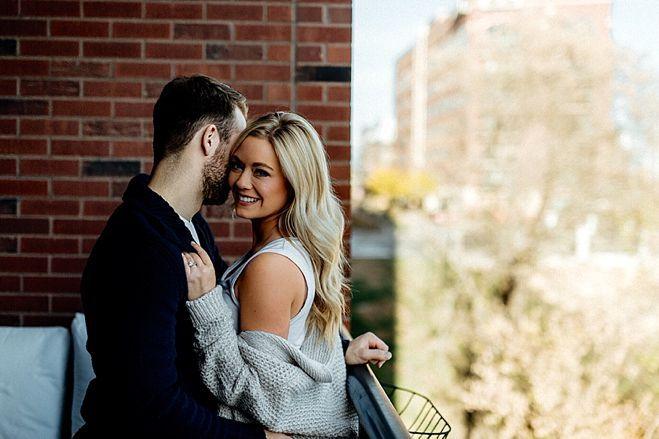 Minnesota Carly Aplin Jason Zucker Share Their Intimate