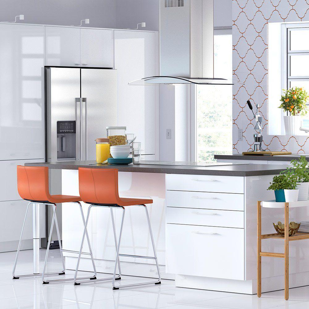 Une Chaise Haute Orange Ikea Chaise Haute Cuisine Cuisine Confortable Chaise Haute Ikea