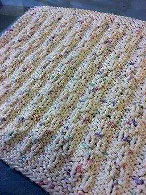 Un joli point texturé… | Modèles de tricot torchon, Tricot ...