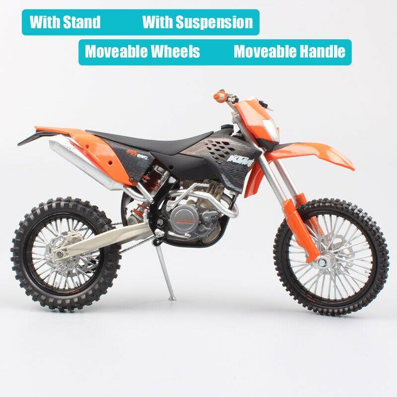 1 12 Ktm 450 Exc 09 Motorcycle Diecast Model Enduro Dirt Race