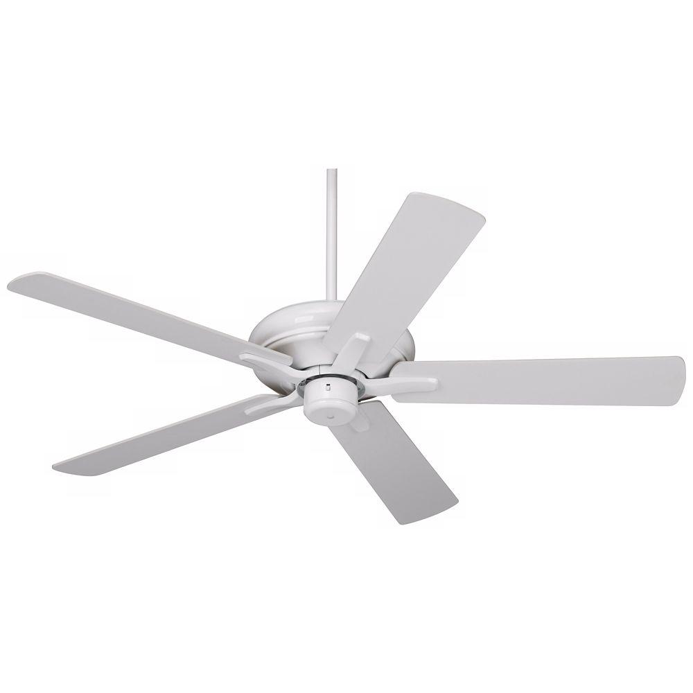 52 Casa Vieja Paseo Energy Star White Ceiling Fan Style U9638