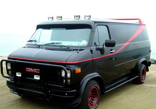 Famous Vehicles From Television List A Team A Team Van The A Team Vehicles