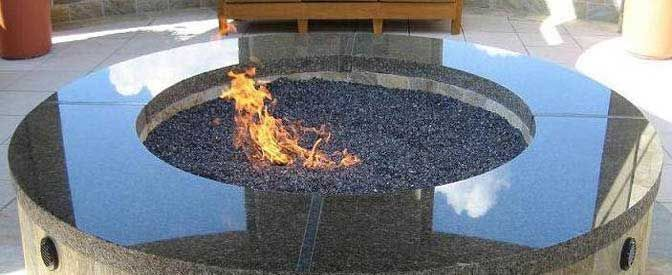 Fire Glass Gas Firepit I WILL own one someday - Fire Glass Gas Firepit I WILL Own One Someday For The Home