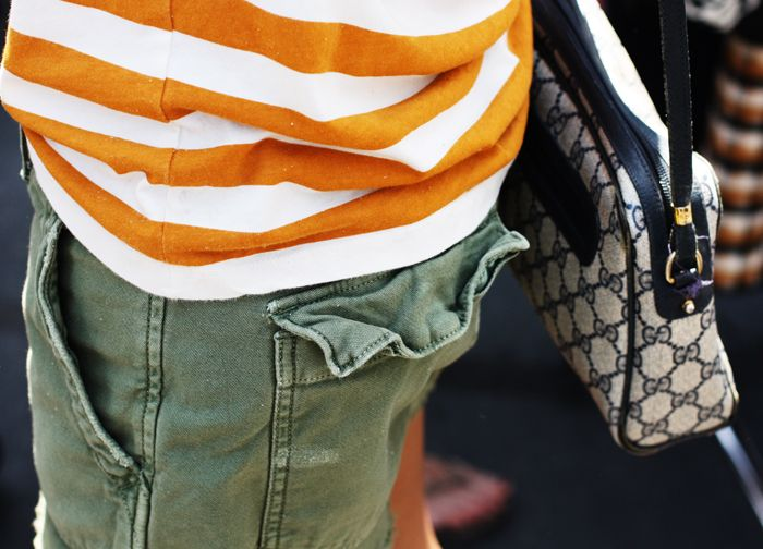 Orange Stripes and Cargo