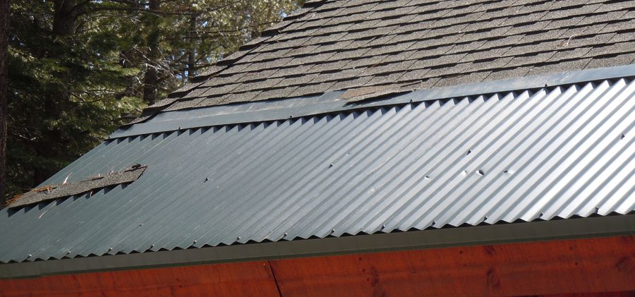 Is Metal At Just The Bottom Portion Of The Roof A Good