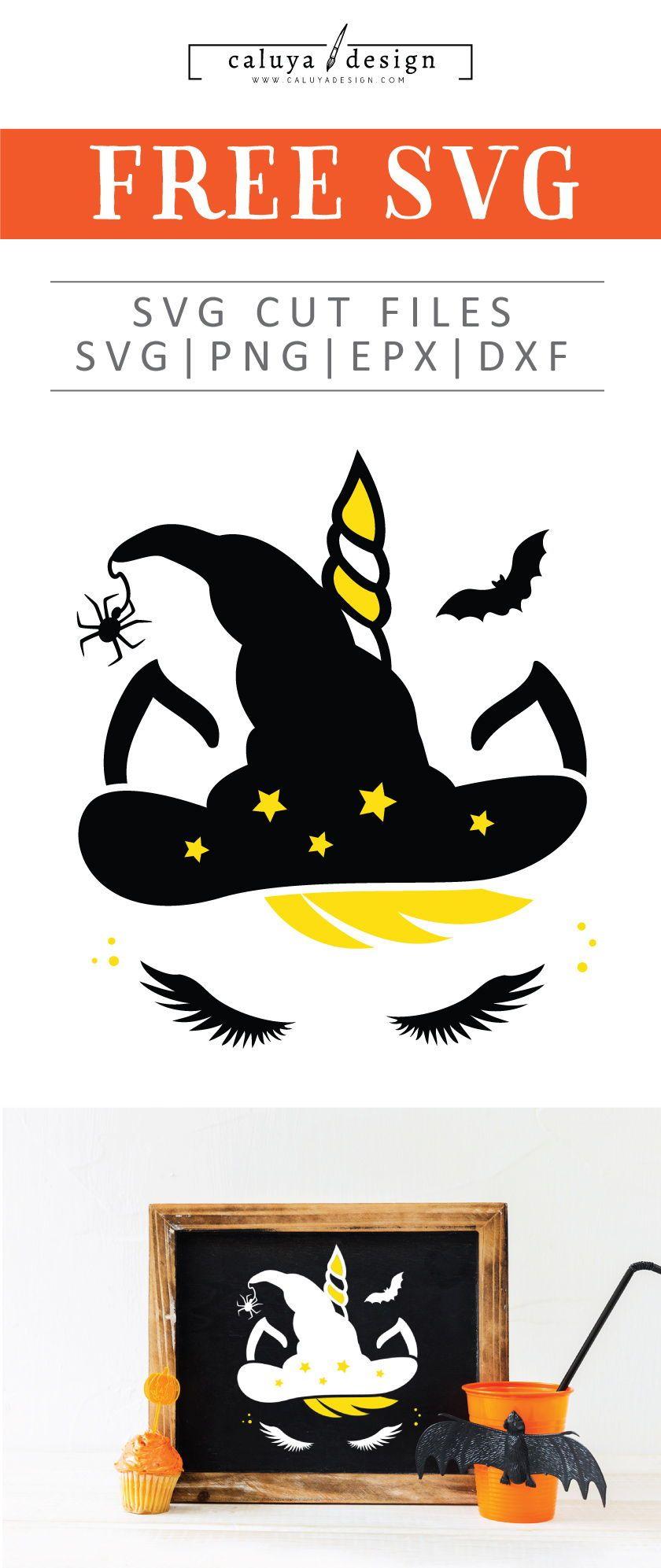 Free Halloween Unicorn SVG, PNG, EPS & DXG by Unicorn