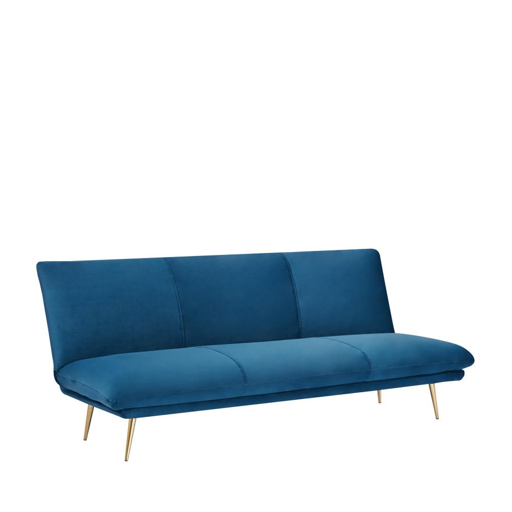Canape Convertible En Velours Rochdale Drawer Avec Images