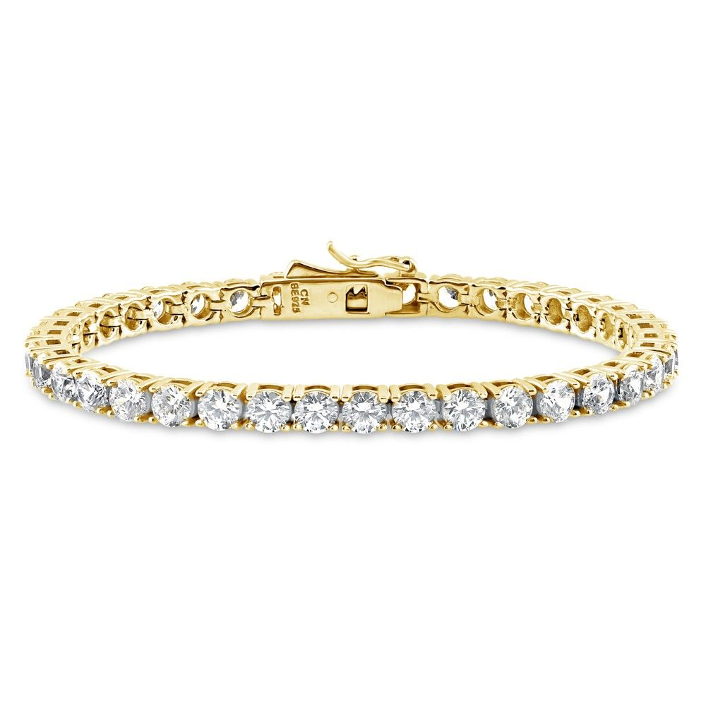 HOT Fashion Girls White Jewelry Women 925 Silver Charm Bracelet Bangle Sapphire