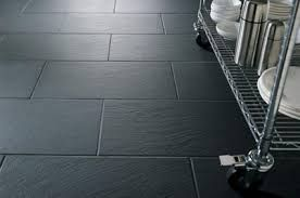 Slate Floor Tiles Black Grout Google Search Kitchen Flooring