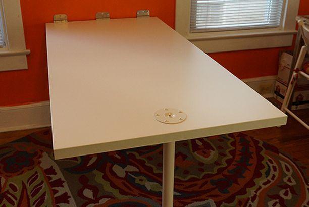 Folding Whiteboard Work Table IKEA Hackers Whiteboard Ikea