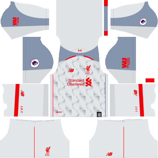 Liverpool Kit 2018-19 Dream League Soccer Kits | Фк ливерпуль, Барселона  футбол, Ливерпуль