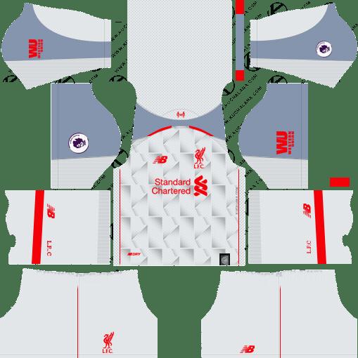 Liverpool Kit 2018-19 Dream League Soccer Kits | Барселона
