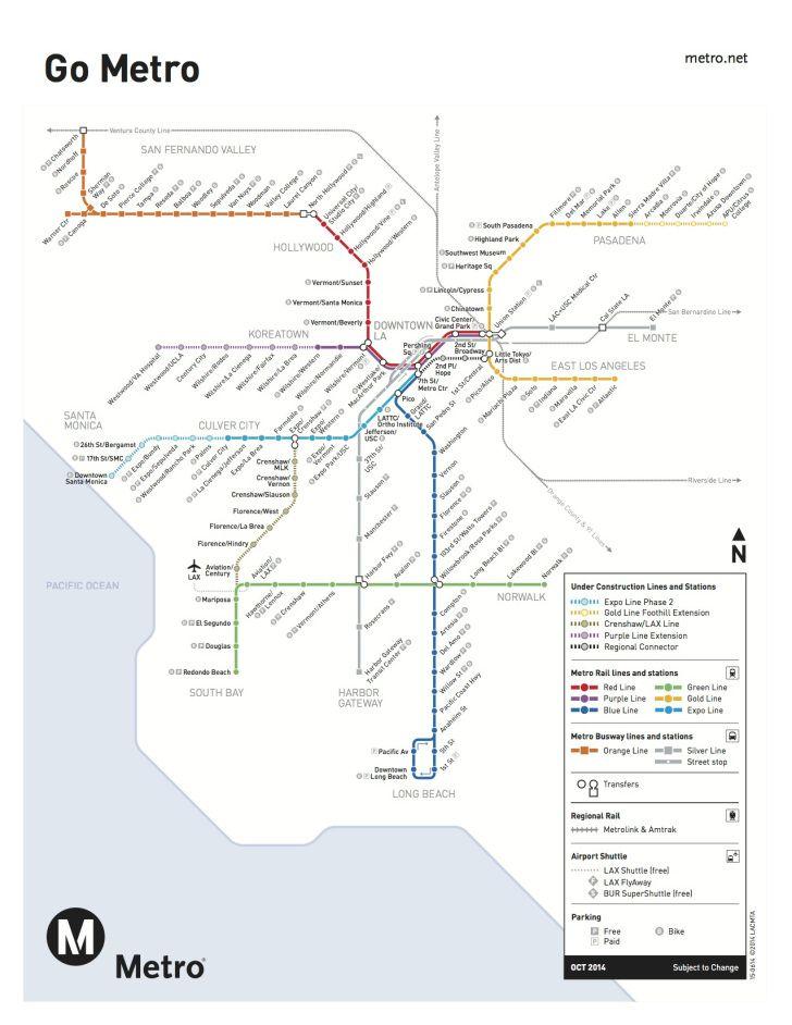 Santa Monica Subway Map.Stylish Vintage And Contemporary American Transit Maps Maps
