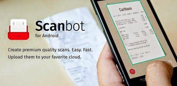 Scanbot Pdf Scanner Sebuah Aplikasi Android Yang Memungkinkan Anda Untuk Membuat Scan Pdf Kualitas Premium Dari Berbagai Evernote Aplikasi Android Aplikasi