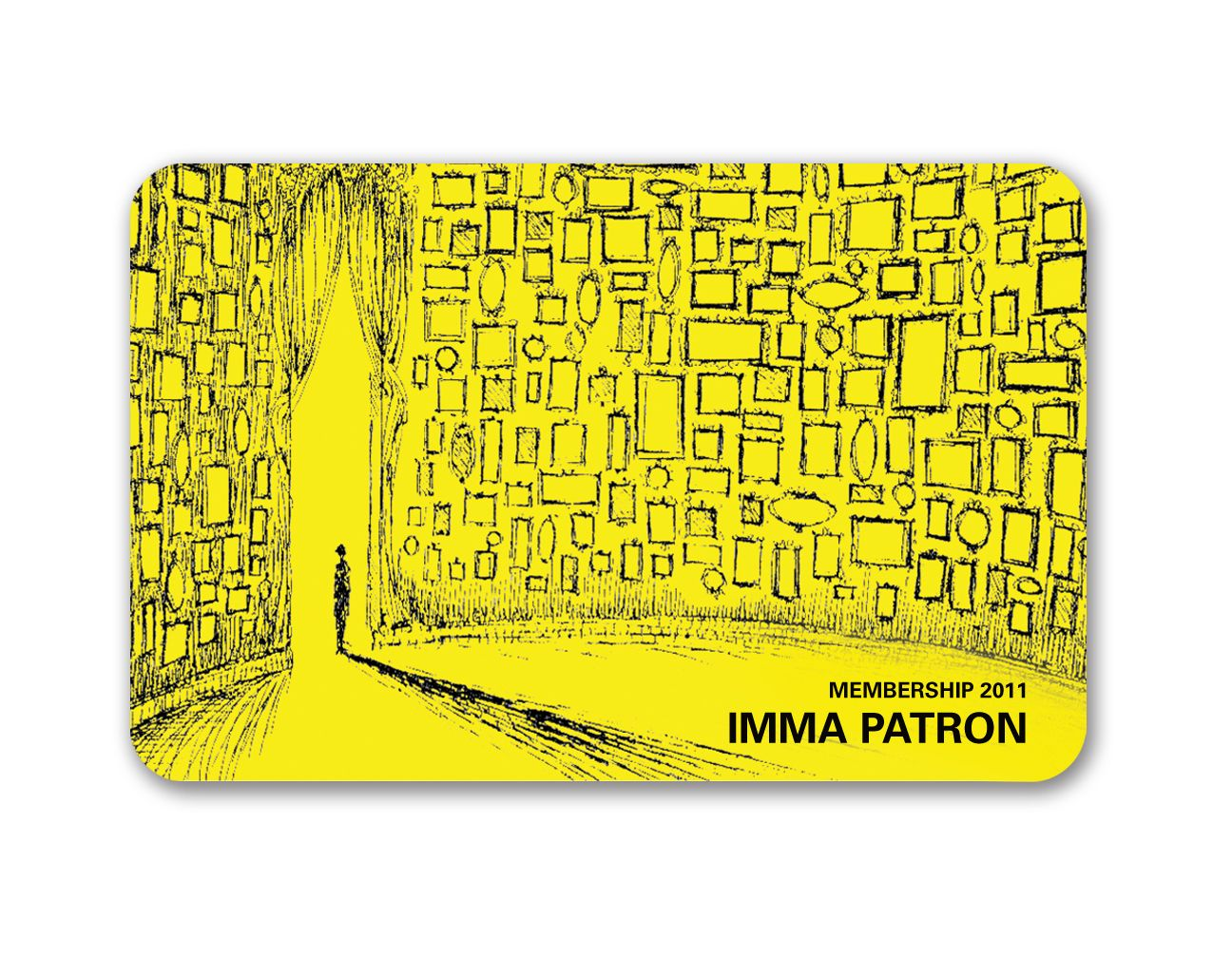 Art Museum Membership Cards | IMMAu0027s 2011 LIMITED EDITION MEMBERSHIP CARD  Printable Membership Cards