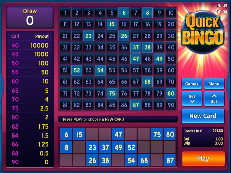 Quick Bingo Http Www 777free Slots Com Free Quick Bingo Online Bingo Online Bingo Casino Games