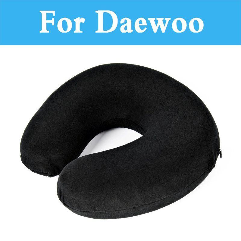 U Shaped Headrest Car Pillow Soft Travel Memory Foam Neck For