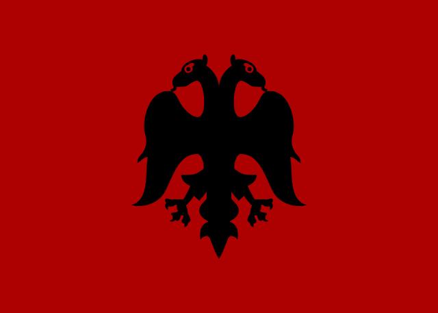 Flag Of Albania Wikipedia Albanian Flag Albania Flag Historical Flags