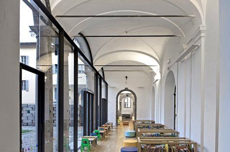 Laudense Library, Lodi, 2013 - architetto Michele De Lucchi