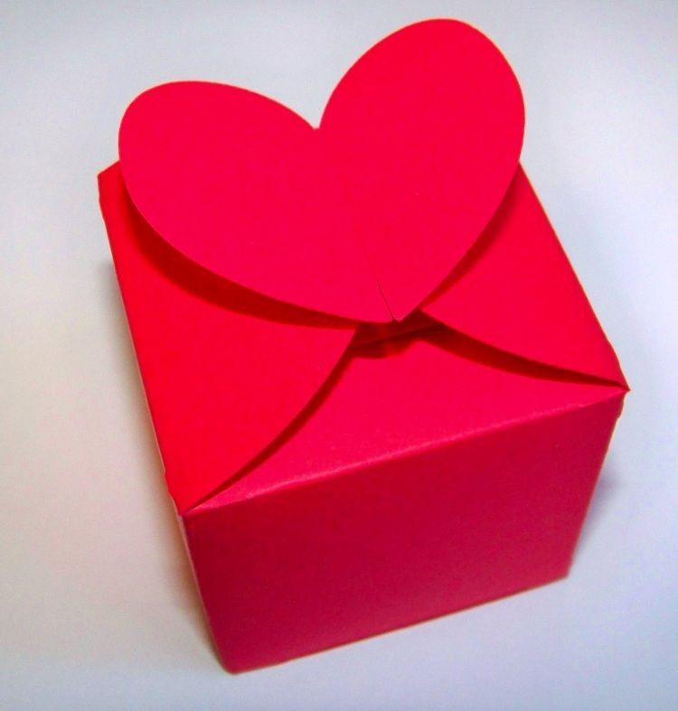 Schachtel Basteln Ideen Und Vorlagen Für Geschenkbox