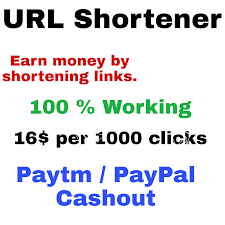 If you are a blogger or a webmaster, shorten URL and get paid must