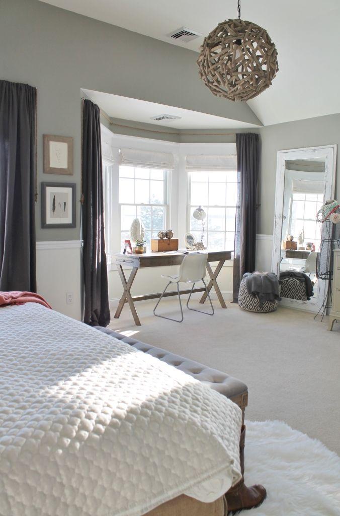 Rustic Bedroom Desk