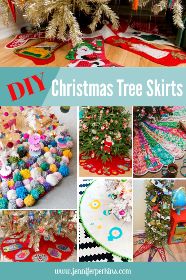Clever And Crafty Christmas Tree Skirt Ideas Christmas Vs