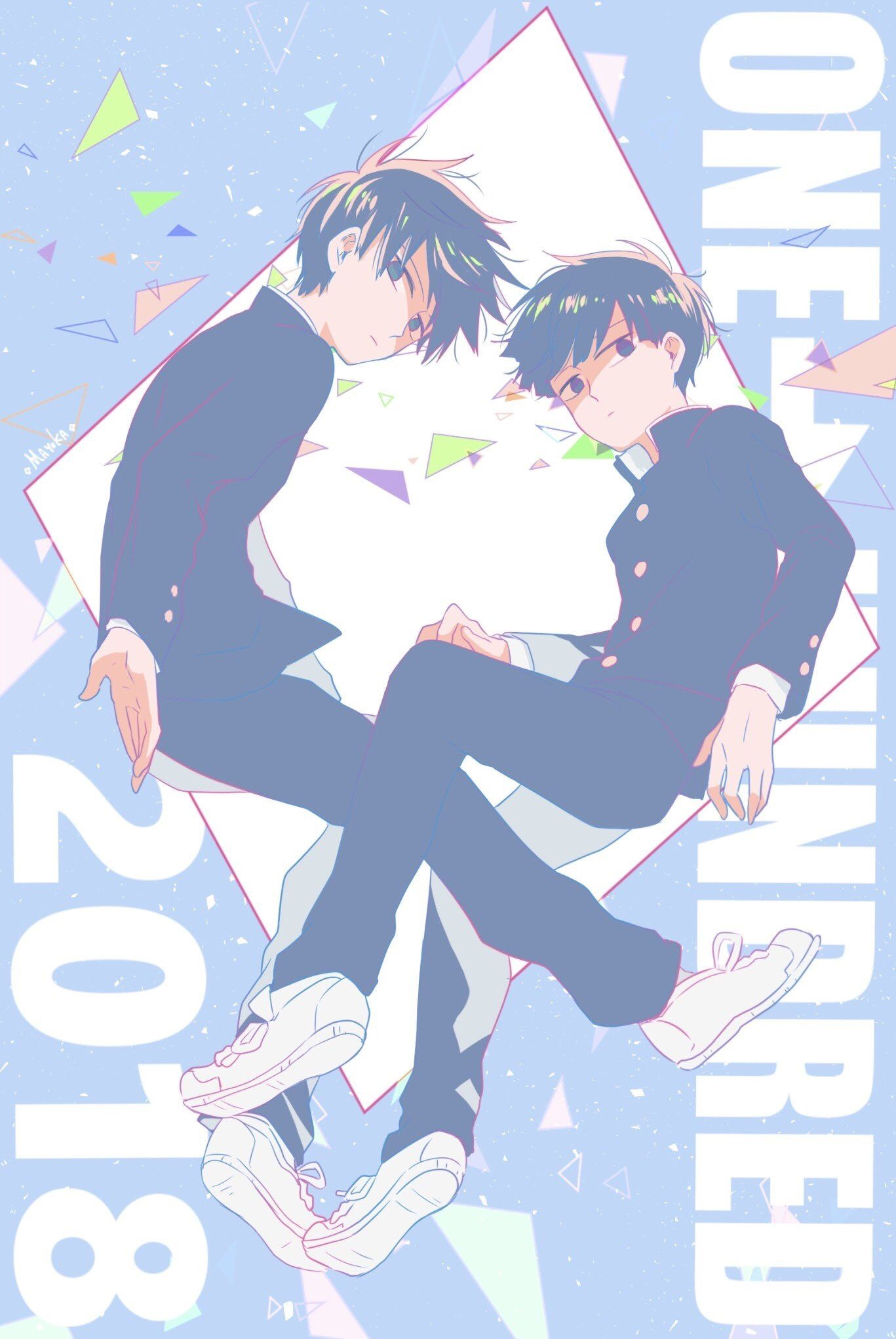 Pin by Jing Teo on Art Graphic Anime, Mob psycho 100