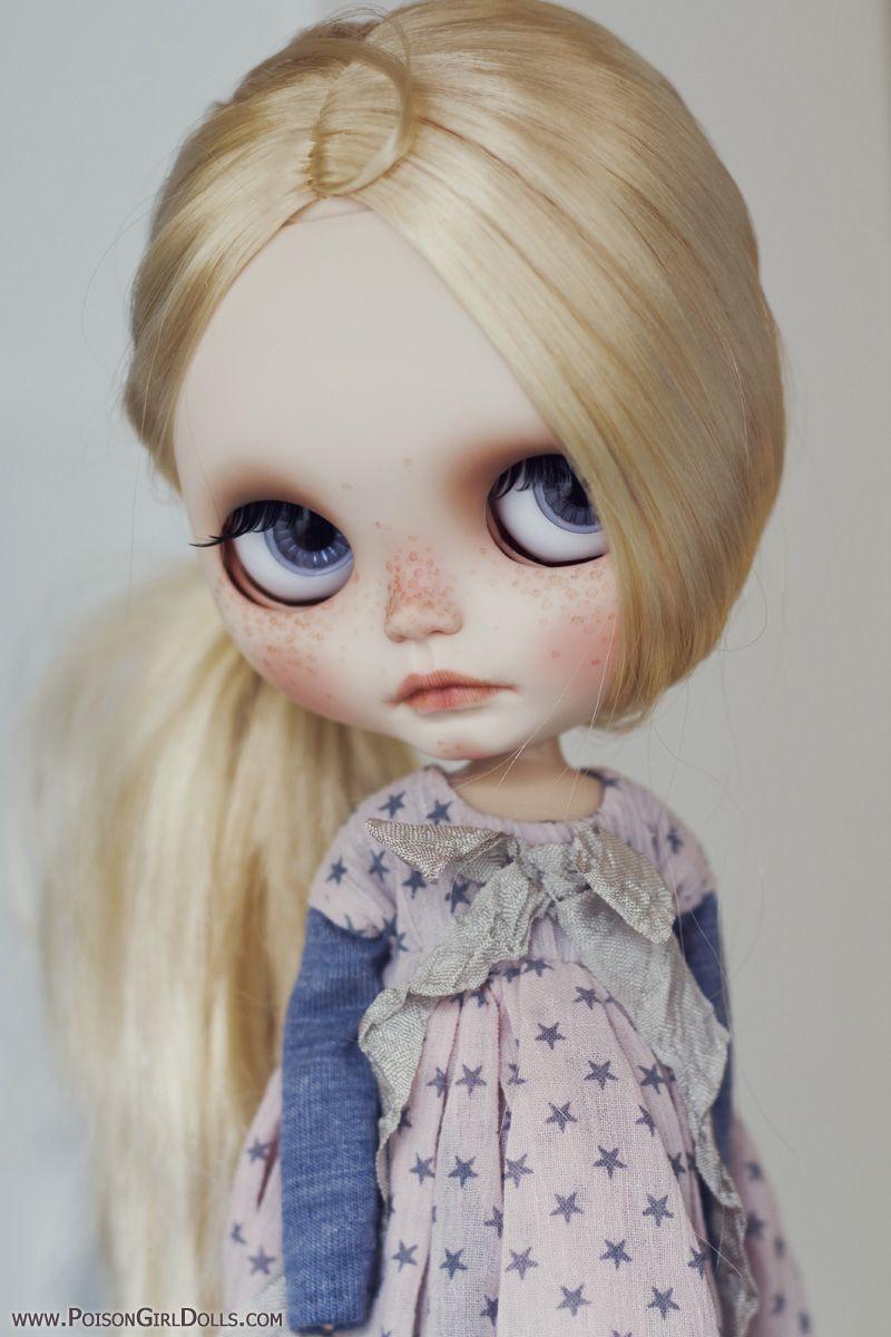 Reserved!!! Custom Blythe Doll Ooak Blythe Fake by  Mon