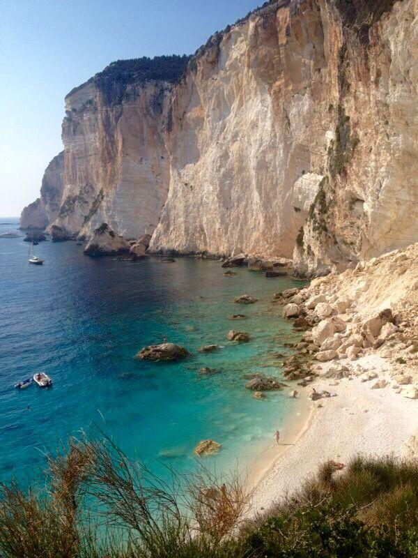 Erimitis beach,Paxos island