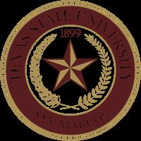 Texas State University At San Marcos Seal Texas State University Texas State Texas State Bobcats
