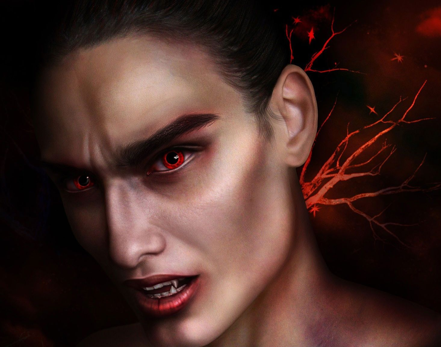 Вампиры картинки мужчины, открытками